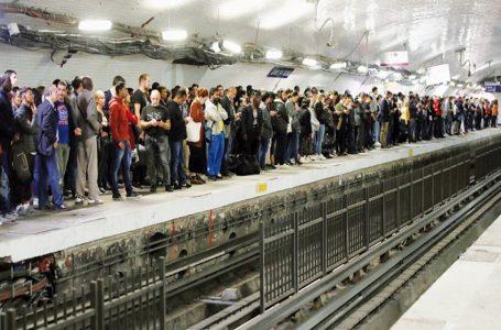 Paris metro hit as workers strike over major pension reform