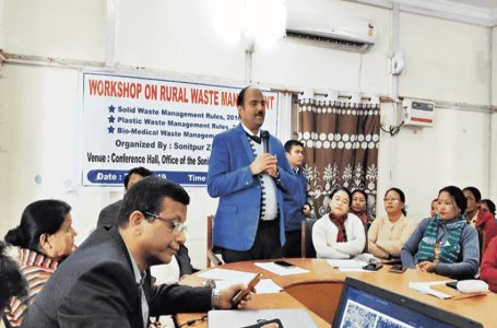 Workshop on rural waste management