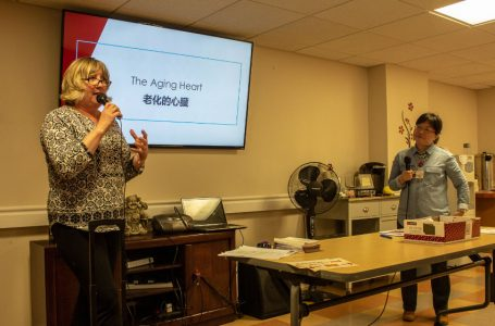 Elders learn about cardiac health in workshop